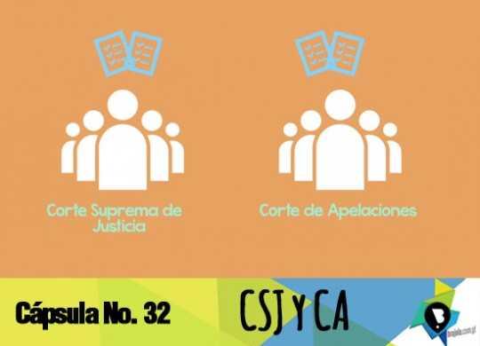 32 CSJ y CA