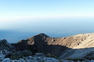 Cima del volcán