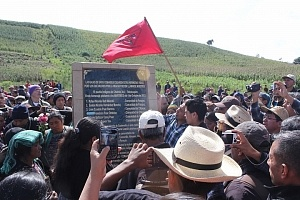 Homenaje en Chuimeq'ena'