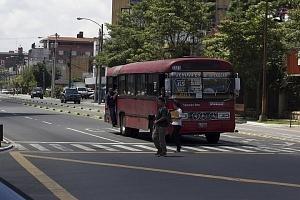 Camioneta en la ciudad